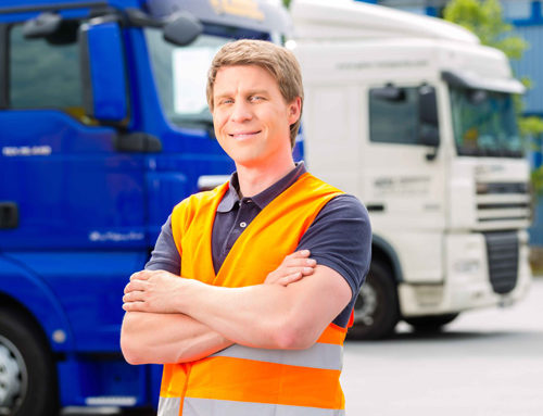 Working as a Self-Employed HGV Driver